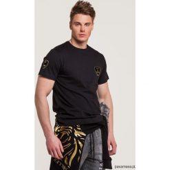 T-shirty męskie z nadrukiem: T-shirt męski z tarczą