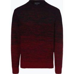 Nils Sundström - Sweter męski, czerwony. Czerwone swetry klasyczne męskie Nils Sundström, l, w gradientowe wzory. Za 249,95 zł.
