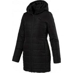 Puma Kurtka Damska Ess Hooded Padded Coat Black S. Czarne kurtki sportowe damskie marki Puma, s. W wyprzedaży za 359,00 zł.