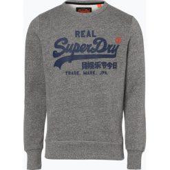 Superdry - Męska bluza nierozpinana, szary. Szare bejsbolówki męskie Superdry, l, z nadrukiem. Za 299,95 zł.