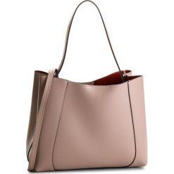 Torebka CREOLE - K10523  Pudrowy Róż. Czerwone torebki klasyczne damskie Creole, ze skóry. W wyprzedaży za 219,00 zł.