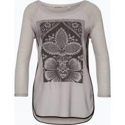 T-shirty damskie: Rich & Royal – Koszulka damska z dodatkiem lnu, szary