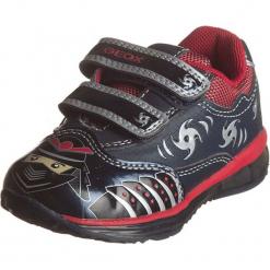 """Sneakersy """"Todo"""" w kolorze granatowo-czerwonym. Niebieskie trampki chłopięce marki geox kids, z gumy. W wyprzedaży za 125,95 zł."""