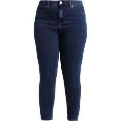 Ashley Graham x Marina Rinaldi IDILLIO Jeans Skinny Fit hellblau. Niebieskie jeansy damskie relaxed fit Ashley Graham x Marina Rinaldi, z bawełny. W wyprzedaży za 923,30 zł.