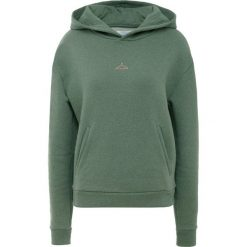Holzweiler HANG ON Bluza z kapturem green melange. Zielone bluzy rozpinane damskie Holzweiler, xl, z bawełny, z kapturem. Za 739,00 zł.