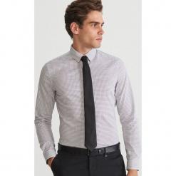 Koszula super slim fit - Kremowy. Białe koszule męskie slim marki Reserved, l. Za 69,99 zł.