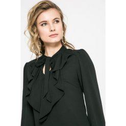 Vero Moda - Bluzka. Czarne bluzki asymetryczne Vero Moda, l, z elastanu, casualowe. W wyprzedaży za 79,90 zł.