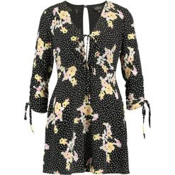 Sukienki hiszpanki: Topshop Petite FLORAL  Sukienka letnia black