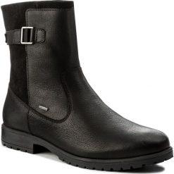 Kozaki SUPERFIT - GORE-TEX 1-00180-02 Schwarz Kombi. Czarne buty zimowe damskie Superfit, z gore-texu, przed kolano, na wysokim obcasie. W wyprzedaży za 249,00 zł.