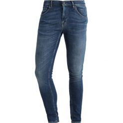 Tiger of Sweden Jeans SLIM Jeansy Slim Fit hint. Niebieskie jeansy męskie relaxed fit marki Tiger of Sweden Jeans. Za 549,00 zł.