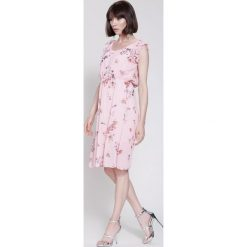 Sukienki: Różowa Sukienka So In Love