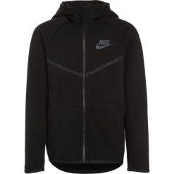 Nike Performance HOODIE Bluza rozpinana black/anthracite. Czarne bluzy chłopięce Nike Performance, z bawełny. W wyprzedaży za 261,75 zł.