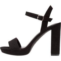 Sandały damskie: New Look SANTIAGO Sandały na obcasie black