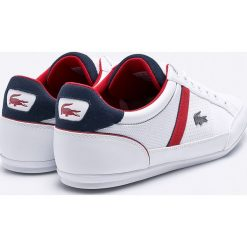 Lacoste - Buty Chaymon. Szare buty skate męskie Lacoste, z gumy, na sznurówki. W wyprzedaży za 399,90 zł.