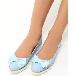 Niebieskie Baleriny Cat's Claw. Niebieskie baleriny damskie vices. Za 49,99 zł.