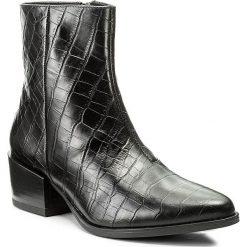 Botki VAGABOND - Marja 4413-008-20 Black. Czarne botki damskie skórzane marki Vagabond. W wyprzedaży za 329,00 zł.