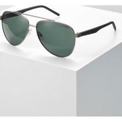 Okulary przeciwsłoneczne męskie aviatory: Polaroid Okulary przeciwsłoneczne ruthenium
