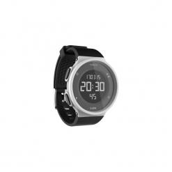 Zegarek do biegania W500 M męski. Białe zegarki męskie marki KALENJI, ze stali. Za 59,99 zł.