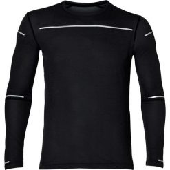 Asics Bluza damska Lite Show LS Top czarna r. XL (154232 0904). Szare bluzy sportowe damskie marki Asics, z poliesteru. Za 174,44 zł.