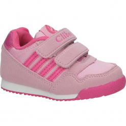 Różowe buty sportowe na rzepy Casu K127. Czerwone buciki niemowlęce Casu, na rzepy. Za 49,99 zł.