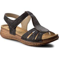 Rzymianki damskie: Sandały INBLU – TWAUOO22  Czarny