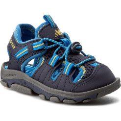 Sandały NEW BALANCE - K2029NBL Granatowy. Niebieskie sandały męskie skórzane marki New Balance. W wyprzedaży za 139,00 zł.