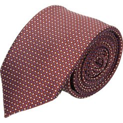 Krawat platinum bordo classic 223. Brązowe krawaty męskie Recman. Za 49,00 zł.
