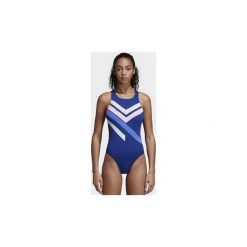 Stroje kąpielowe damskie: kostium kąpielowy jednoczęściowy adidas  Strój do pływania Placed-Print