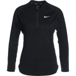 Nike Performance PURE Koszulka sportowa black/white. Czarne t-shirty damskie Nike Performance, s, z elastanu, z długim rękawem. Za 219,00 zł.