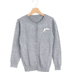 Swetry dziewczęce: Szary Sweter Turning Back