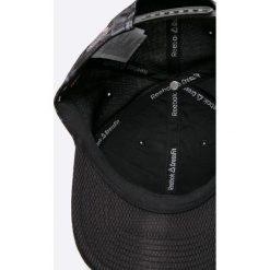 Reebok - Czapka. Czarne czapki z daszkiem męskie Reebok, z bawełny. W wyprzedaży za 59,90 zł.
