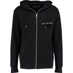 Calvin Klein Jeans HAWS Bluza rozpinana ck black. Czarne bluzy męskie rozpinane marki Calvin Klein Jeans, m, z bawełny. W wyprzedaży za 431,20 zł.