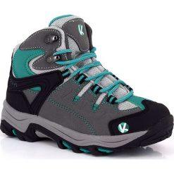 """Buty trekkingowe """"Climb"""" w kolorze turkusowym. Niebieskie buty trekkingowe chłopięce marki Kimberfeel, z materiału. W wyprzedaży za 172,95 zł."""
