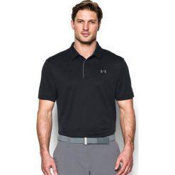 Under Armour Koszulka męska Tech Polo czarna r. XXL (1290140 001). Czarne koszulki sportowe męskie Under Armour, m. Za 119,00 zł.