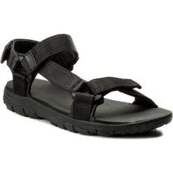 Sandały JACK WOLFSKIN - Seven Seas 2 Sandal M 4026651 Phantom. Czarne sandały męskie marki Jack Wolfskin, w paski, z materiału. W wyprzedaży za 189,00 zł.