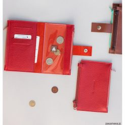Portfele damskie: Portfel - Pocket BIG / Red