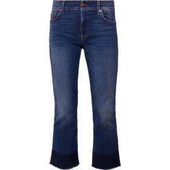 7 for all mankind BOOT UNROLLED ILLUSION LOVESONG Jeansy Dzwony dark blue denim. Niebieskie jeansy damskie bootcut marki bonprix. Za 969,00 zł.