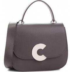 Torebka COCCINELLE - CN5 Craquante E1 CN5 18 01 01 Fume Y28. Szare torebki klasyczne damskie marki Coccinelle, ze skóry. W wyprzedaży za 1399,00 zł.