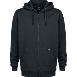 Dickies Kingsley Bluza z kapturem rozpinana czarny. Szare bluzy męskie rozpinane marki Dickies, na zimę, z dzianiny. Za 244,90 zł.