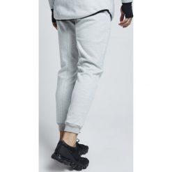Spodnie dresowe męskie: SIKSILK APEX TRACK PANT Spodnie treningowe snow white