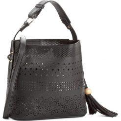 Torebka JENNY FAIRY - RC13389  Czarny. Czarne torebki klasyczne damskie marki Jenny Fairy, ze skóry ekologicznej. Za 99,99 zł.