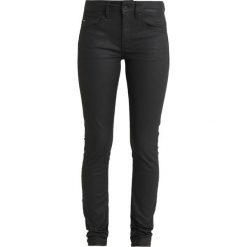 GStar MIDGE ZIP MID SKINNY Spodnie materiałowe distro black superstretch. Czarne rurki damskie marki G-Star, z bawełny. Za 549,00 zł.