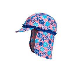 Playshoes  Czapka UV Fiołki - niebieski. Niebieskie czapeczki niemowlęce Playshoes, z elastanu. Za 55,00 zł.