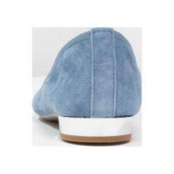 Baleriny damskie lakierowane: Andre COMTESSE Baleriny blue jeans