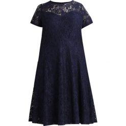 Sukienki hiszpanki: Dorothy Perkins Curve NEW FIT FLARE DRESS Sukienka koktajlowa navy
