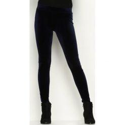 Spodnie damskie: Granatowe Spodnie Blacklink