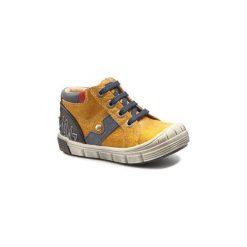 Buty Dziecko GBB  REINOLD. Żółte buty zimowe chłopięce GBB. Za 279,20 zł.