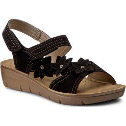 Rzymianki damskie: Sandały INBLU – LIABOO11 Czarny