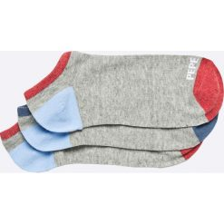 Pepe Jeans - Skarpety (3-pack). Szare skarpetki męskie Pepe Jeans, z bawełny. W wyprzedaży za 39,90 zł.