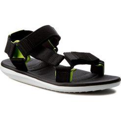 Sandały RIDER - Rx Sandal Ad 82137 White/Black/Green 22157. Czarne sandały męskie Rider, z materiału. W wyprzedaży za 129,00 zł.